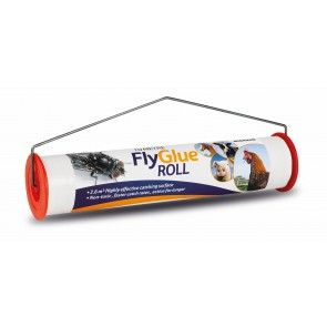 10 METRE FLY GLUE ROLL PAPER Highly Effective with attractantion coating