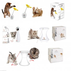 GREAT INTERACTIVE TOYS AND LASERS FOR CATS OR OTHER SMALL ANIMALS