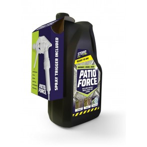 PATIO FORCE Kills Moss Mould Algae & Double the strength of the Market Leaders
