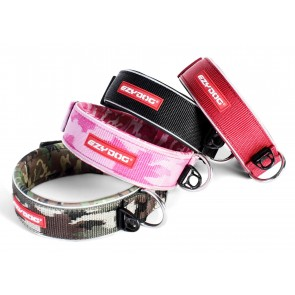 "EZYDOG WIDE PADDED NEOPRENE DOG COLLAR ""NON ROT / NON SMELL"