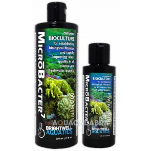 BRIGHTWELL MICROBACTER 7 COMPLETE BIOCULTURE FILTRATION WATER AQUARIUM FISH TANK