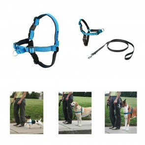 EASY WALK DELUXE HARNESS COMPLETE WITH 1.8 METRE LEAD  (Non Pull) Safe & Simple